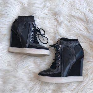 L.A.M.B. sneaker heels